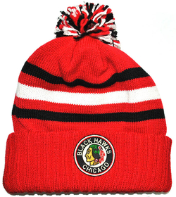 Шапка CCM Cuff Pom Knit Chicago