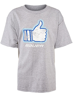 Футболка BAUER Thumbs Up SS Yth детская